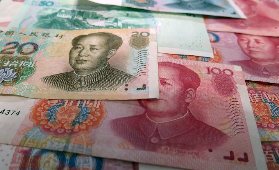 Chinese currency notes