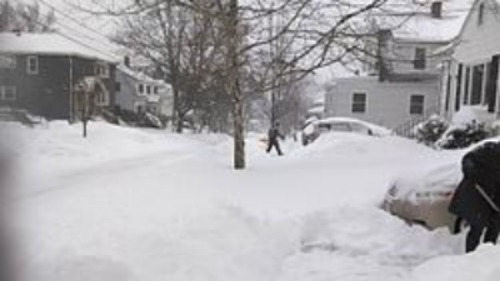 Snowfall in Watertown, Massachusetts (Aria1561)