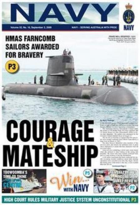 Australian Naval Newspaper