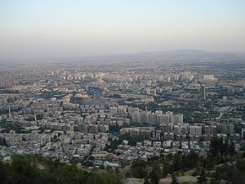 Damascus, the capital of Syria