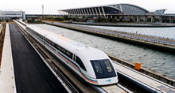 Chinese Maglev train