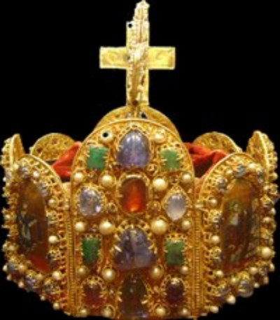 "Crown of the old ""Holy Roman Empire"""