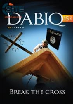 The current issue of the magazine of the Islamic State