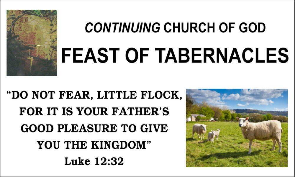 Feast of Tabernacles Banner (CCOG)