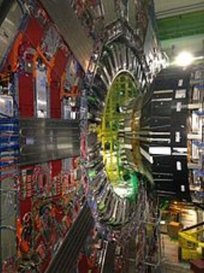 Large Hadron Collider CMS Particle Detector (Tighef)