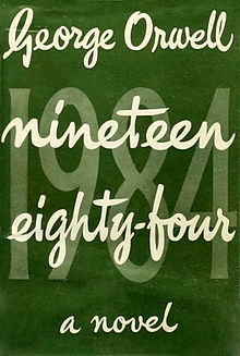 Front Cover of the First (1949) Edition of '1984'