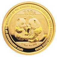 China Gold 'Panda' 100 Yuan Coin