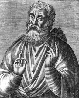 Artist's Imagination on Justin Martyr's Appearance