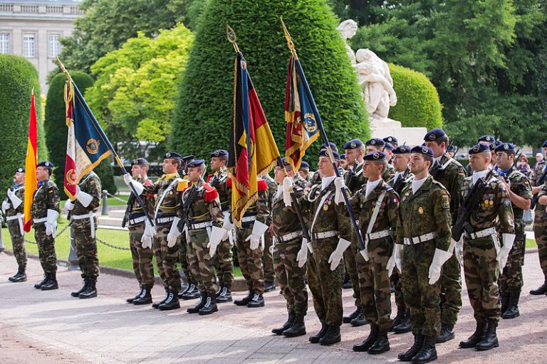 European soldiers (Claude TRUONG-NGOC)