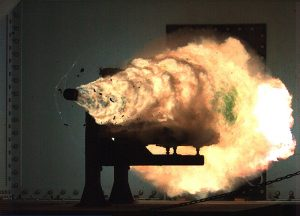 USN railgun test
