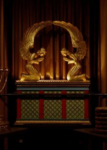 Replica of Ark of the Covenant in George Washington Masonic National Memorial (photo by SchuminWeb)