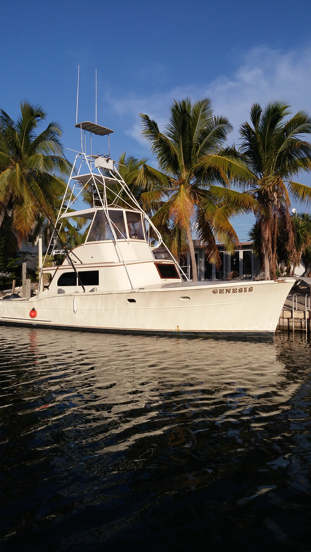 the genesis offshore sportfisher