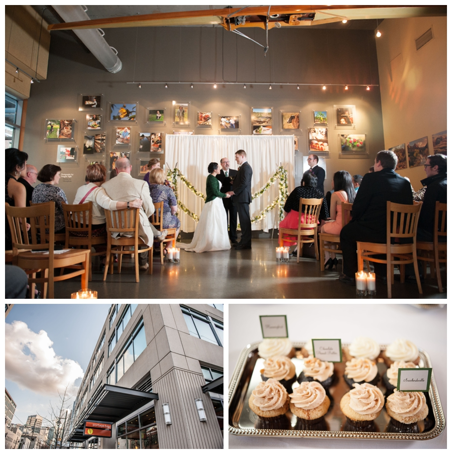 Portage Bay cafe Wedding - photo
