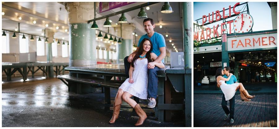 Pike Market engagement - photo02