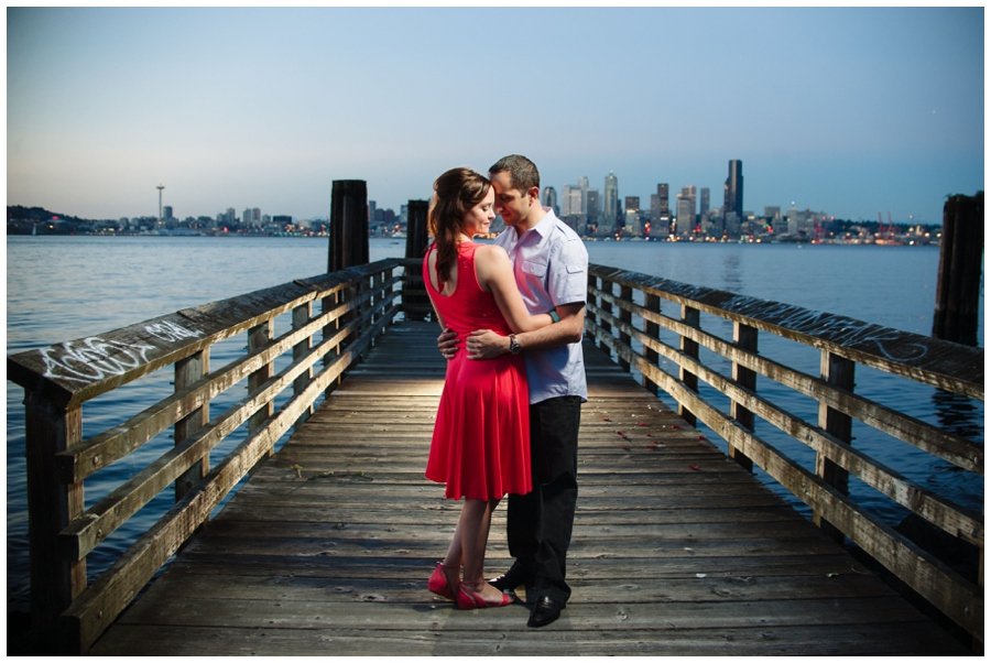 FEATURED Lincoln Park and West seattle engagement - photo01