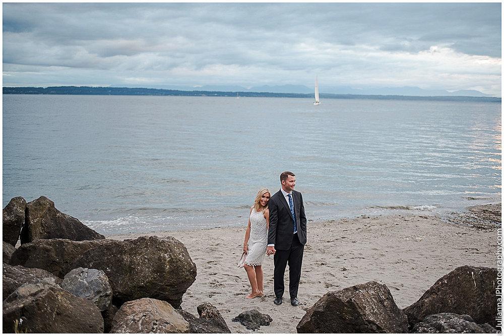 GOLDEN GARDEN BEACH & MARINA AREA in Ballard (15 mins from Downtown Seattle)