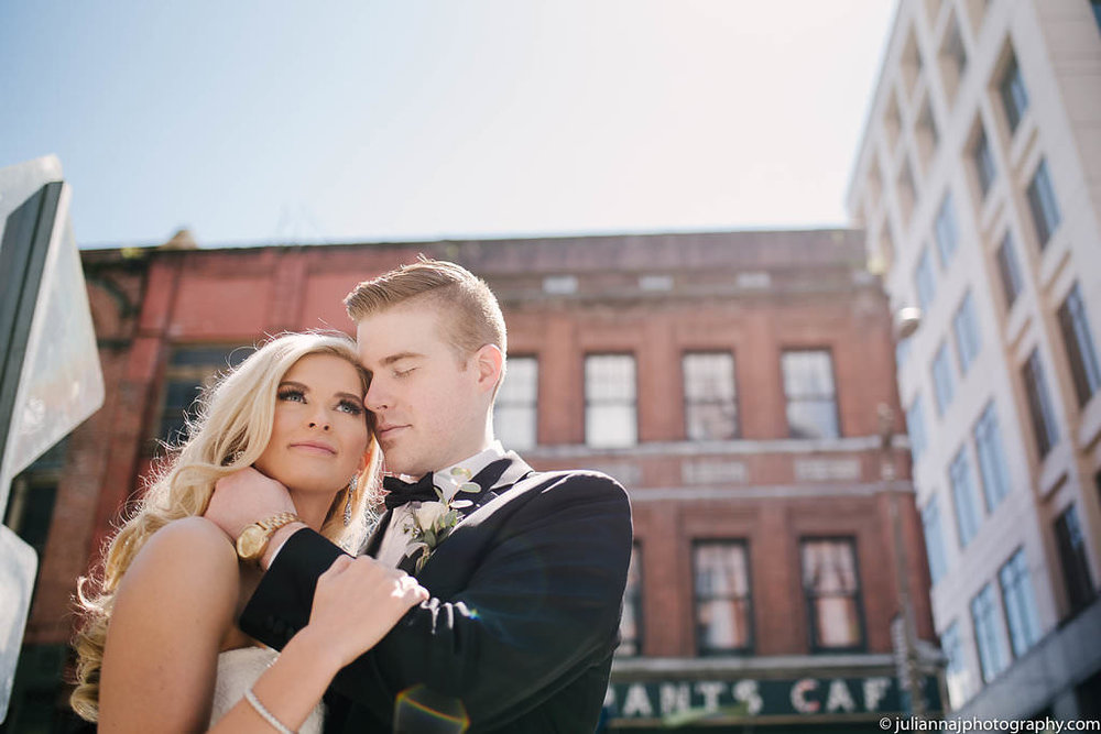 Should your wedding photographer scout your venue before the wedding day? The low down on the scouting process The Arctic Club in Seattle Wedding Pioneer Square| juliannajphotography.com Julianna J Photography
