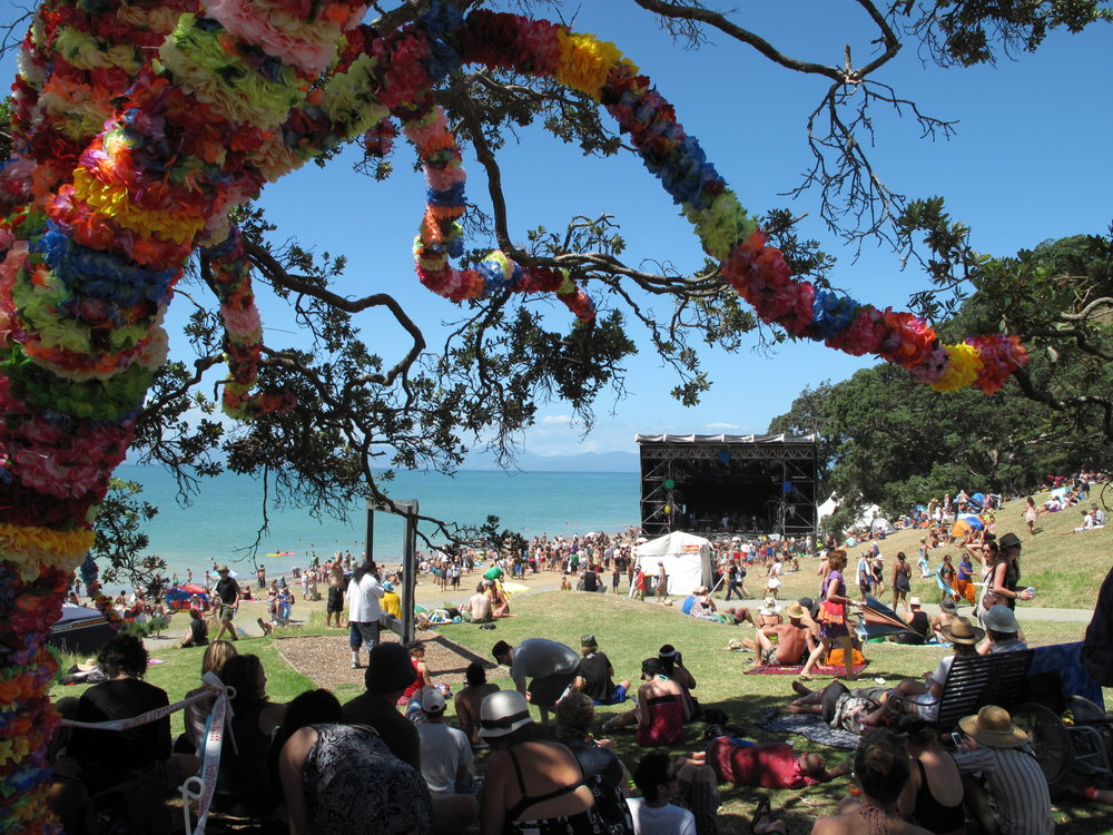 Splore Music Festival, 2010 Kawakawa Bay, NZ. photo by Peter Caughey