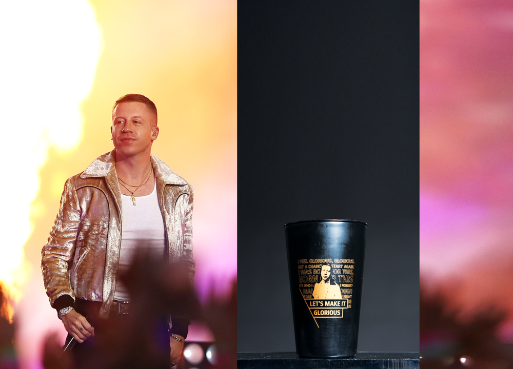 Case StudyNRL & MACKLEMORE - Eliminating single use cupsNRL invited Macklemore to perform at the NRL grand finale. The organisation teamed up with Globelet to replace their single use cups & increase PR exposure using  a custom-made design for Macklemore.WHAT WE DIDGlobelet provided 4,000 reusable cups with a special design and made sure all cups would be washed on site to be ready to use again.THE RESULTSReplaced the single use cups with 4,000 reusable cups.Great PR exposure and an unique souvenir for the visitors.