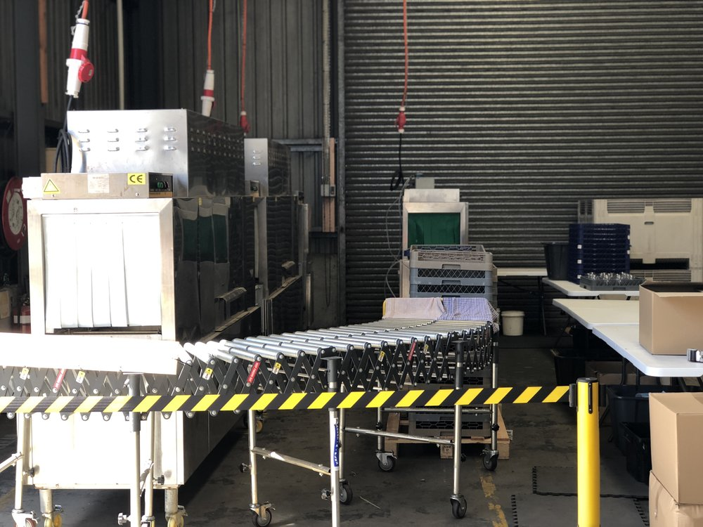 OUR 2 LINE 10K PER HOUR MACHINES. CAPABLE OF 20K PER HOUR IN SYDNEY