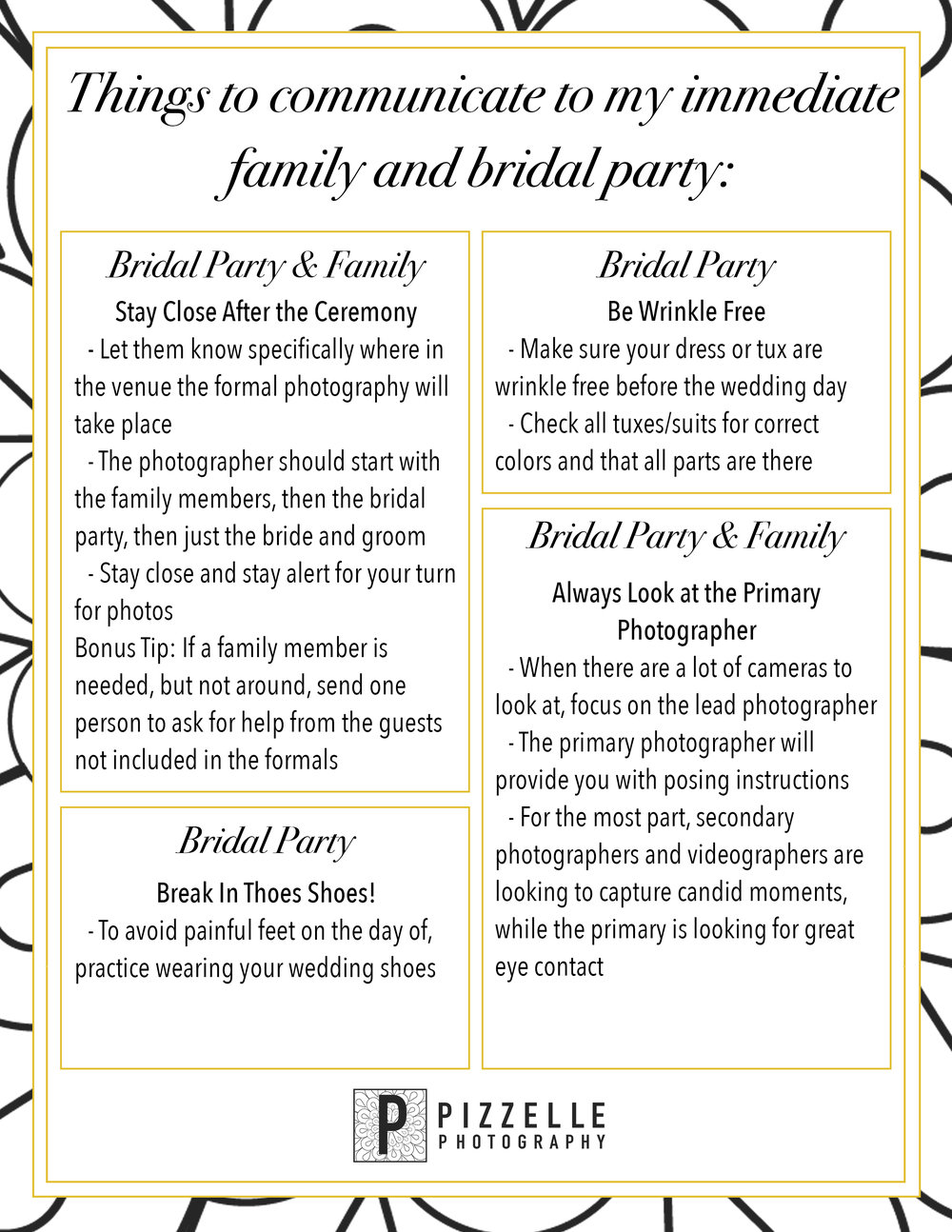 Pizzelle Photography - What to tell your bridal party.jpg