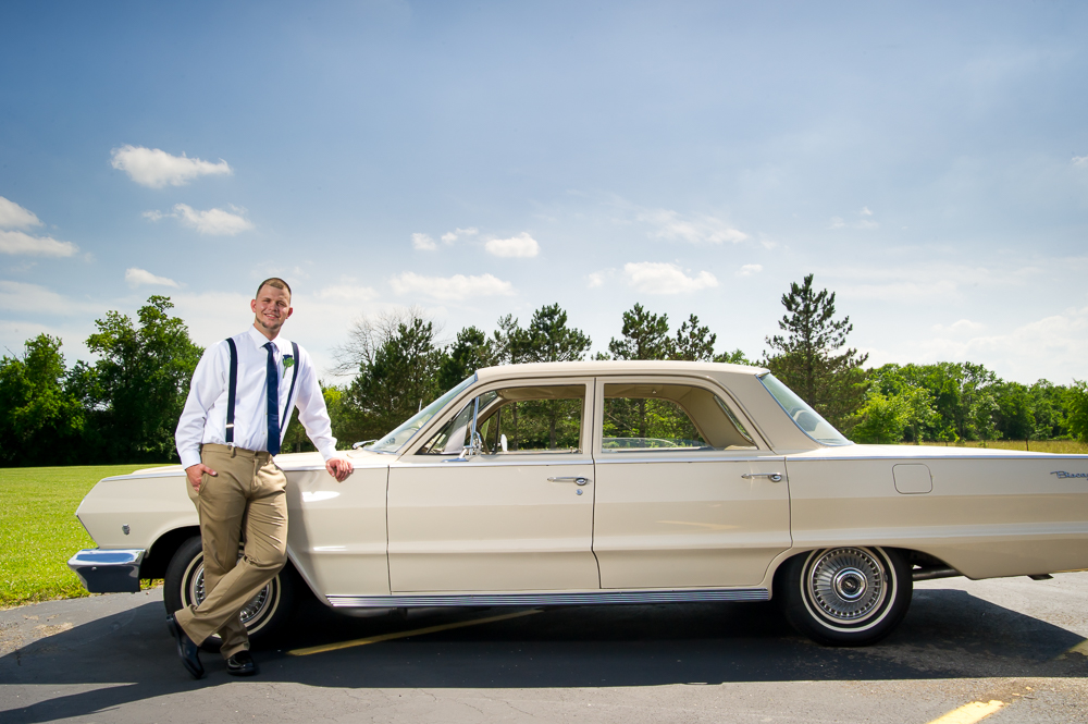 1-cincinnati-wedding-groom-car-first-millville-baptist-church.jpg