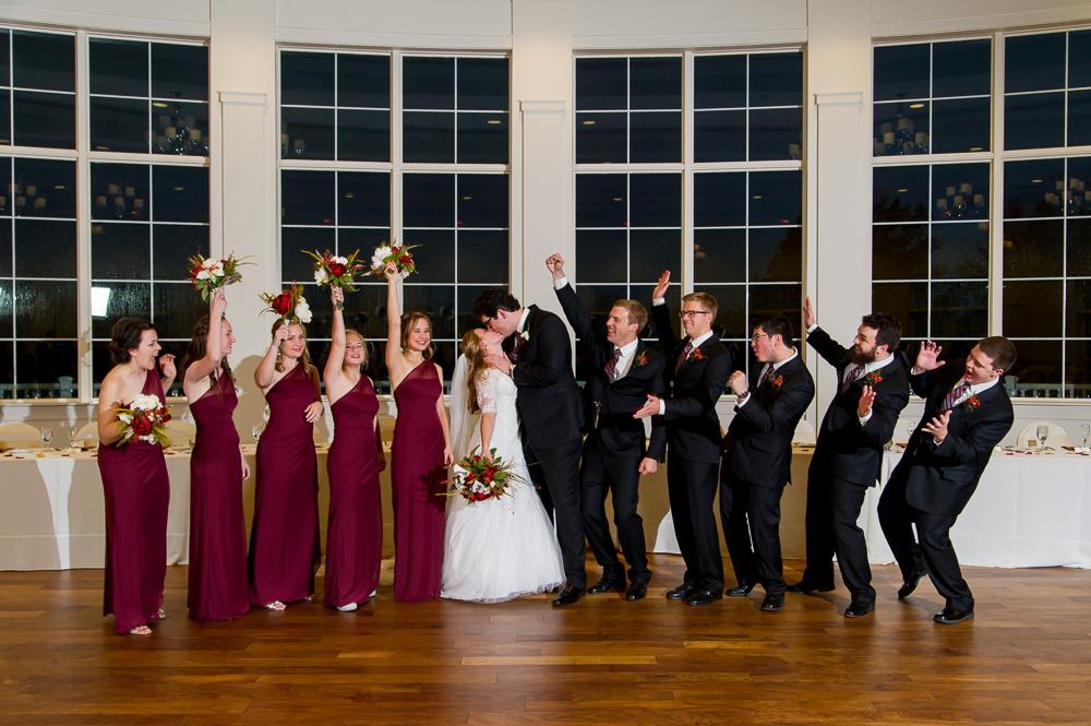 3-cincinnati-wedding-party-cheer-cooper-creek-event-center.jpg