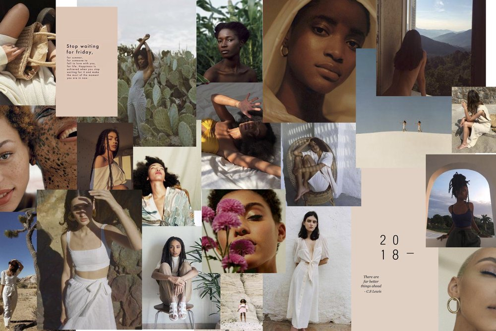 images are not deun ivory's work. moodboard is curated with visuals from pinterest  client: anisah ali