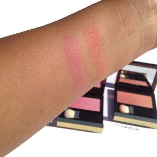 Swatches of Pink Ombre on the left and Peach Ombre on the right.
