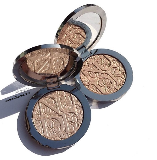 Dior Diorskin Nude Air Glowing Gardens Illuminating Powder: Glowing Nude and Glowing Pink: Swatches and Review