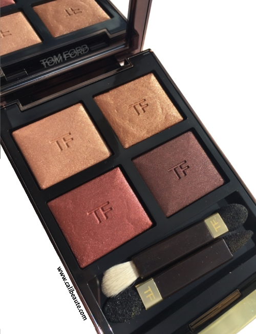 Tom Ford Honeymoon Eyeshadow Quad: Review and Swatches