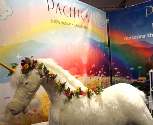 Pacifica had a cute photo booth complete with an adorable unicorn.