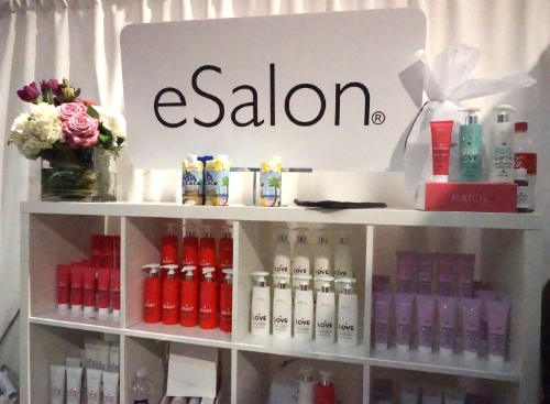 I got to visit my friends at E Salon. They provide custom hair color at a fraction of the salon price.