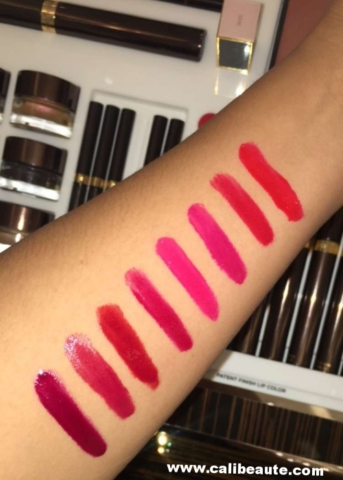 Tom Ford Lip Color Pen Swatches