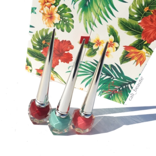 Christian Louboutin Hawaii Kawai Collection I Nail Coffret Trio