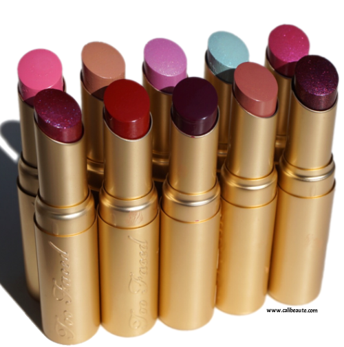Too Faced Color Drenched Lipsticks Spring 2016