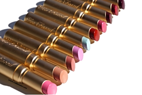 Color Drenched lipsticks