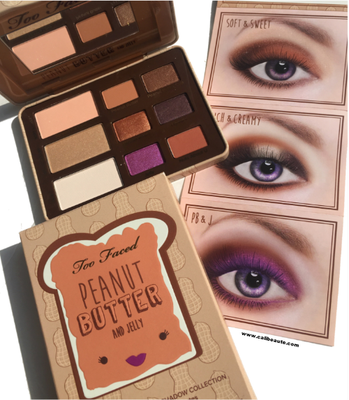 Too Faced Peanut Butter and Jelly Palette: Review and Swatches