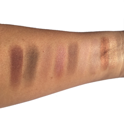 Swatches Burgundy Times Nine