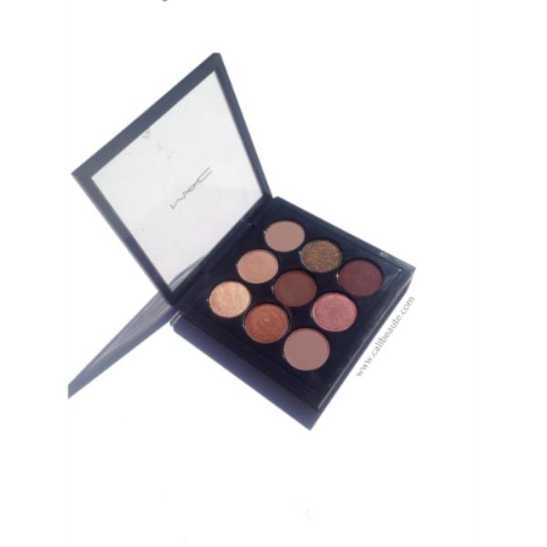 Mac Eyeshadow x 9: Burgundy Times Nine