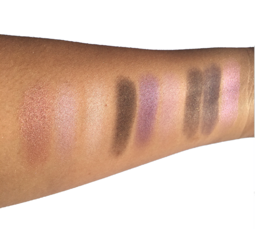 Purple Times Nine Swatches