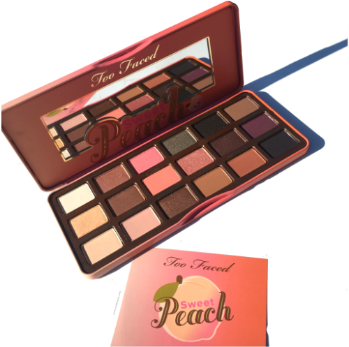 Too Faced Sweet Peach Eyeshadow Palette: Swatches and First Impressions