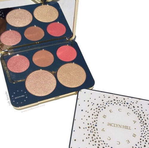 Becca X Jaclyn Hill Champagne Glow Face Palette Review and Swatches