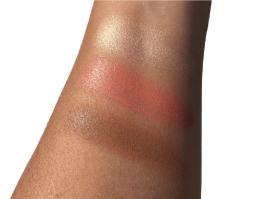 Hourglass Illume Sheer Color Trio Swatches