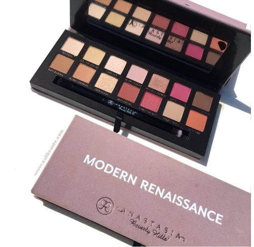 Anastasia Beverly Hills Modern Renaissance Palette: Review and Swatches