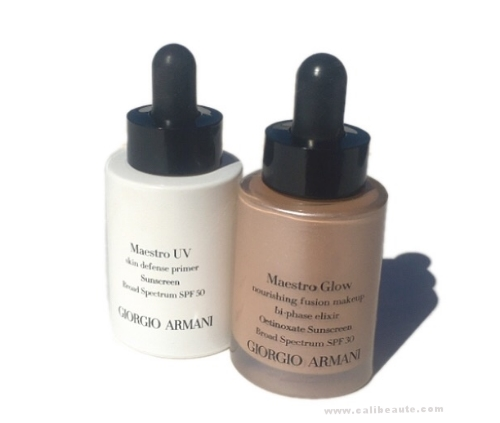 A Radiant Summer Glow with Giorgio Armani Maestro Glow Foundation & Maestro UV Skin Defense Primer: Swatches & Review