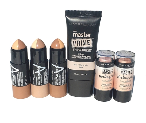 Maybelline #MyNyItLook: The Face Studio Master Primer, Master Contour, and Master Strobing Stick