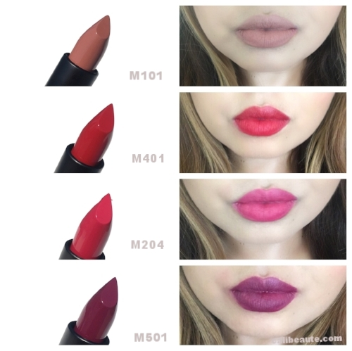 Make Up For Ever Artist Rouge Lipstick Swatches M101