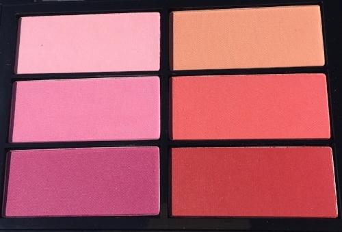 Viseart Rose Coral Blush Palette