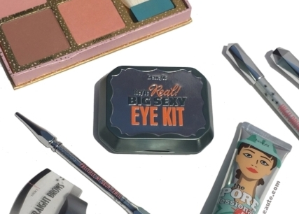 Benefit Cosmetics' They're Real Big Sexy Eye Kit Swatches & First Impressions